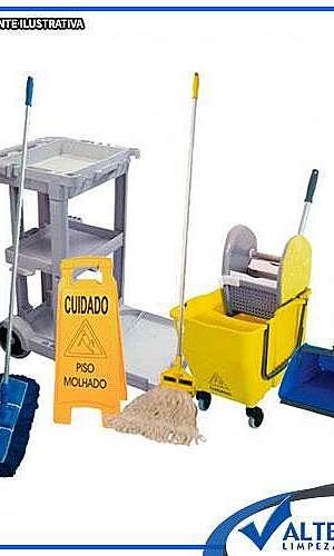 carrinho de limpeza multifuncional