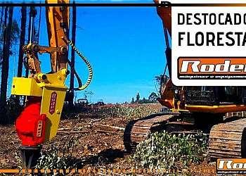 Destocador florestal para maquinas