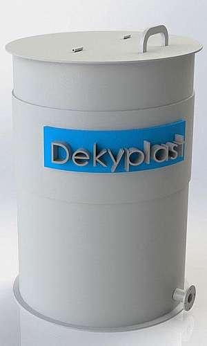 Tanque plástico para processo industrial
